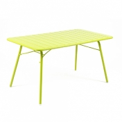 Fermob: Categories - Furniture - Luxembourg Table 143x80x73cm