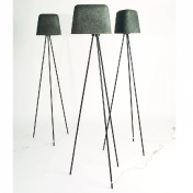 Tom Dixon: Categories - Lighting - Felt Shade Floor Lamp