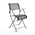 Fermob: Rubriques - Mobilier - Dune - Fauteuil pliant