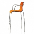 Magis: Categories - Furniture - Paso Doble Bar Stool with Arms