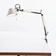 Artemide: Categories - Lighting - Tolomeo Micro with table clamp