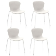 Fritz Hansen: Brands - Fritz Hansen - Nap Chair Set Of 4
