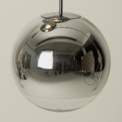 Tom Dixon: Categories - Lighting - Mirror Ball Pendant Suspension Lamp