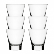 iittala: Categories - Accessories - Aarne Glass Set Of 6