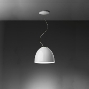 Artemide: Categories - Lighting - Nur Mini Gloss Halo Suspension Lamp