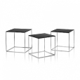 Fritz Hansen: Brands - Fritz Hansen - PK71 Nesting Table Set