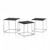 Fritz Hansen: Categories - Furniture - PK71 Nesting Table Set