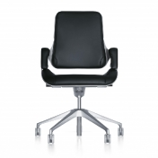 Interstuhl: Categories - Furniture - Silver Swivel Chair 262S