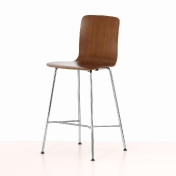 Vitra: Brands - Vitra - Hal Ply Stool Medium Bar Stool