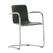 Vitra: Categories - Furniture - Hal Cantilever Armrest Armchair