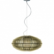 Foscarini: Brands - Foscarini - Tropico Ellipse Suspension Lamp