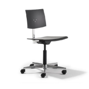 Richard Lampert: Categories - Furniture - Mr. Square Swivel Chair with wheels