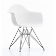 Vitra: Rubriques - Mobilier - Eames Plastic Armchair DAR basic dark