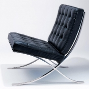 Knoll International: Categories - Furniture - Barcelona Chair