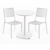 Weishäupl: Categories - Furniture - Easy Cross/Tonic Outdoor Set