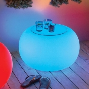 Moree Ltd.: Kategorien - Möbel - Bubble LED Accu Outdoor Beistelltisch