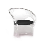 Magis: Categories - Furniture - Flower Transparent Chair