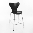 Fritz Hansen: Design Special - Chaises Arne Jacobsen - S&eacute;rie 7 - Tabouret de bar 76cm