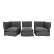 Gervasoni: Outlet - Ghost Sofa + Ottoman | display item