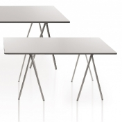 Danese: Categories - Furniture - 100% AL Aluminium Table