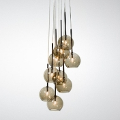 AndTradition: Categories - Lighting - Ice Chandelier 9 Suspension Lamp