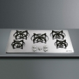 Smeg: Categories - High-Tech - P755 Inset Gas Cooking Plate