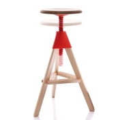 Magis: Categories - Furniture - Tom & Jerry Bar Stool 70-86