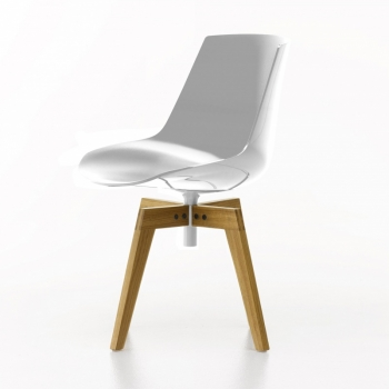 Flow Chair with oaken legs