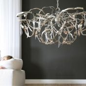 Brand van Egmond: Categories - Lighting - Delphinium Oval Chandelier