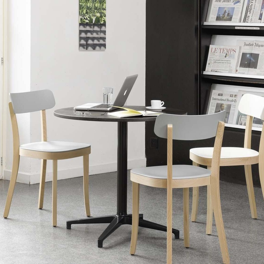 bistro table tisch rund vitra. Black Bedroom Furniture Sets. Home Design Ideas
