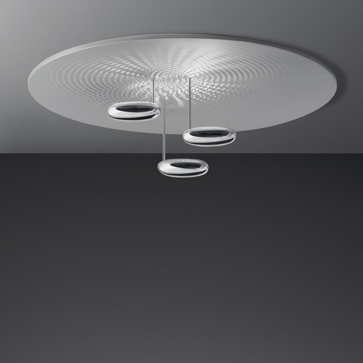 Droplet soffitto led ceiling lamp artemide for Deckenleuchte led design