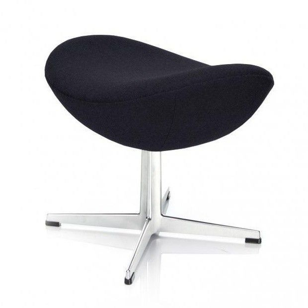 egg chair het ei voetenbank stof fritz hansen. Black Bedroom Furniture Sets. Home Design Ideas