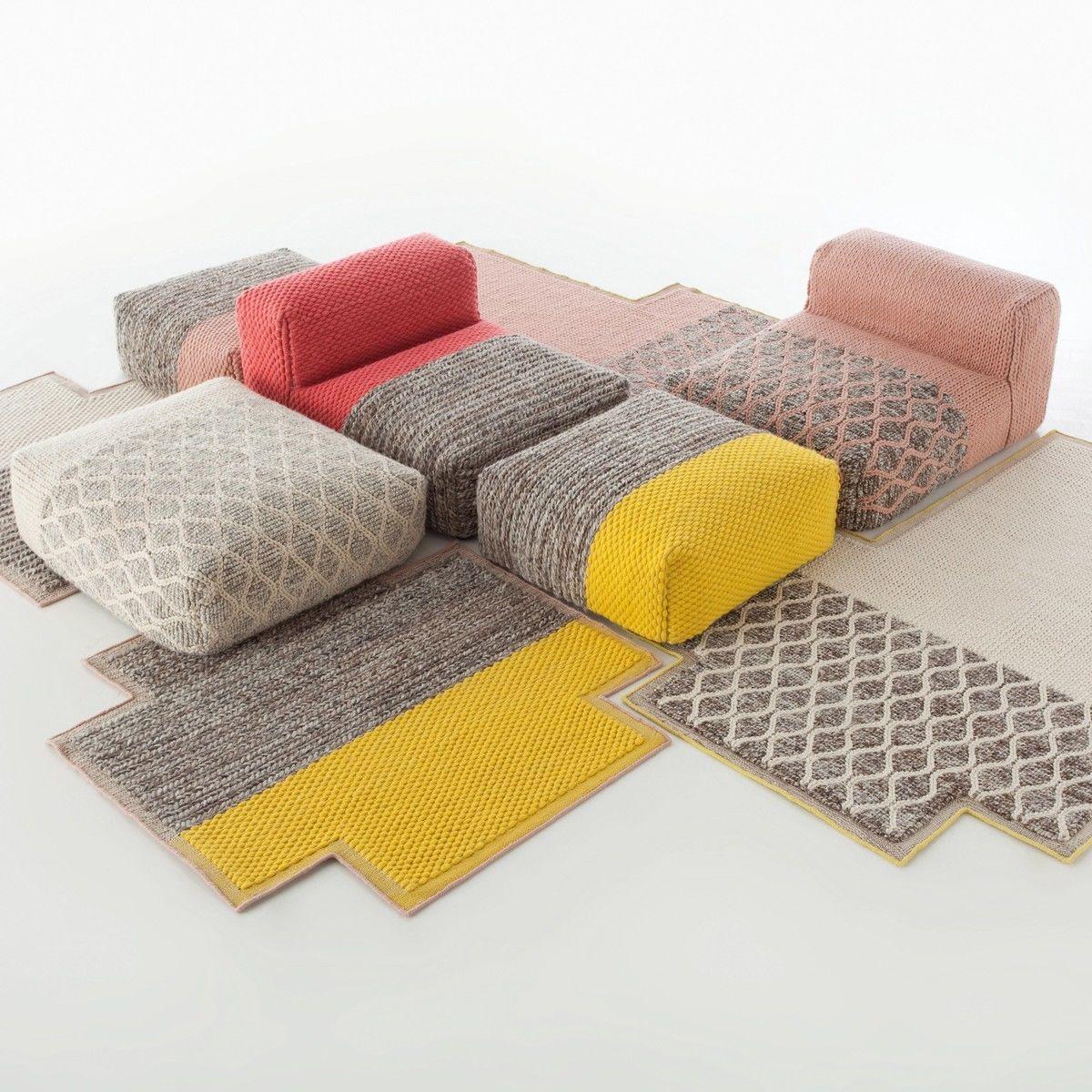 mangas space square pouf gan. Black Bedroom Furniture Sets. Home Design Ideas