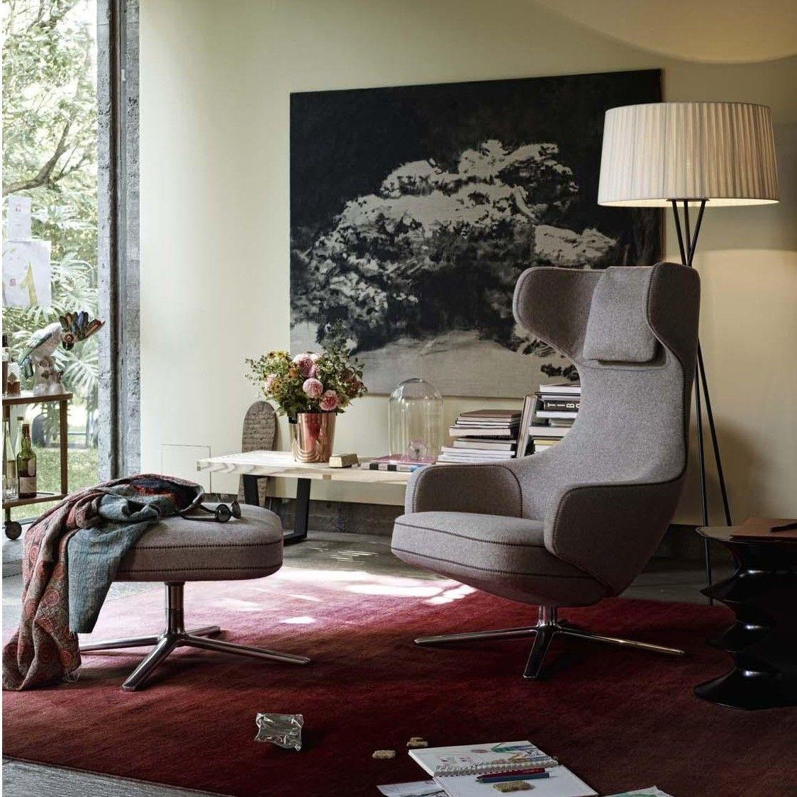 grand repos citterio fauteuil h115cm vitra. Black Bedroom Furniture Sets. Home Design Ideas