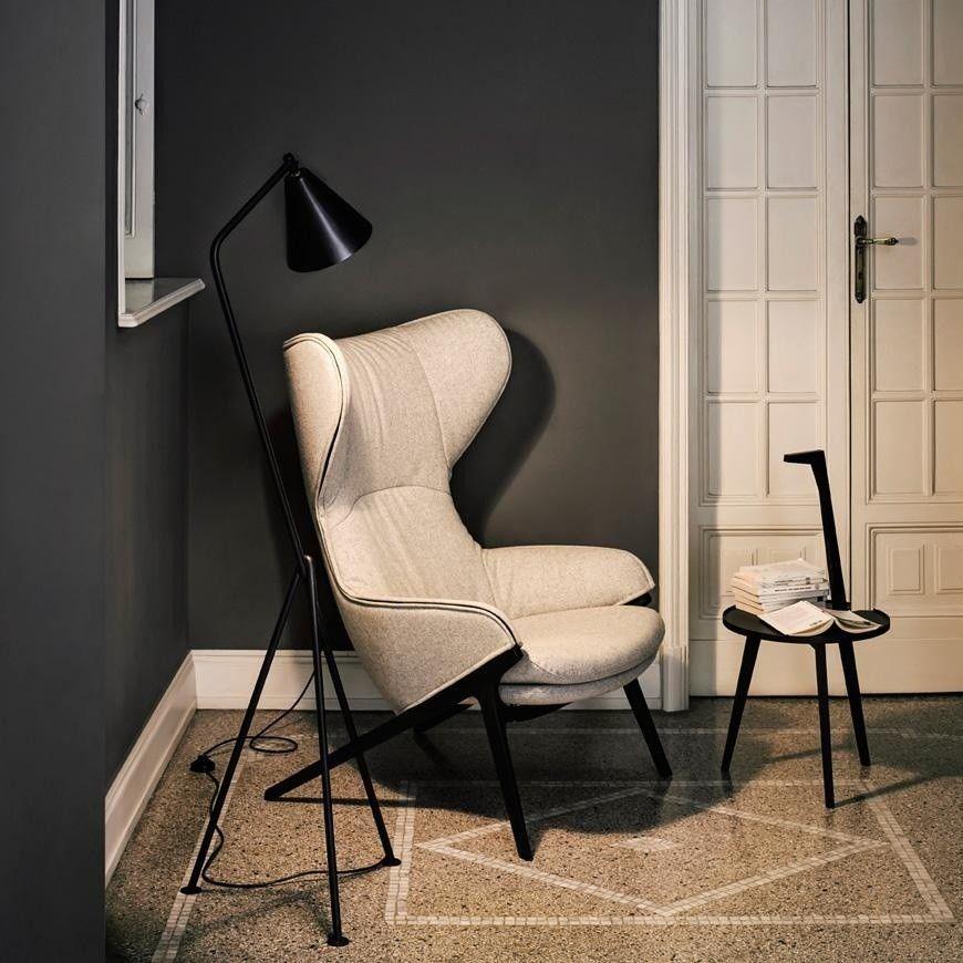 p22 patrick norguet fauteuil oreilles cassina. Black Bedroom Furniture Sets. Home Design Ideas