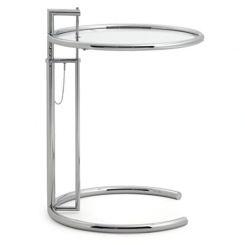 adjustable table e 1027 beistelltisch classicon. Black Bedroom Furniture Sets. Home Design Ideas