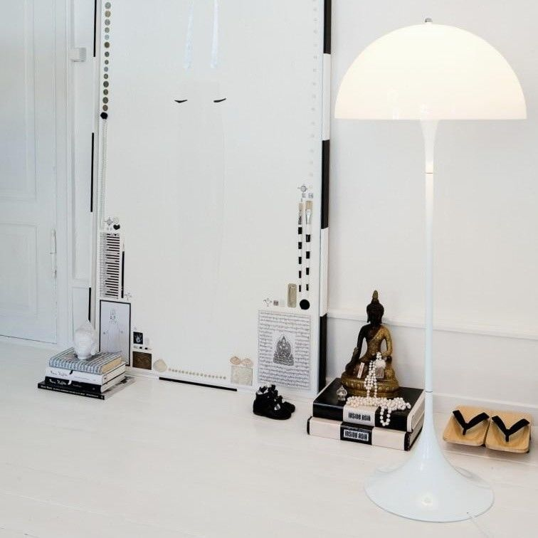 Panthella Floor Lamp | Louis Poulsen | AmbienteDirect.com