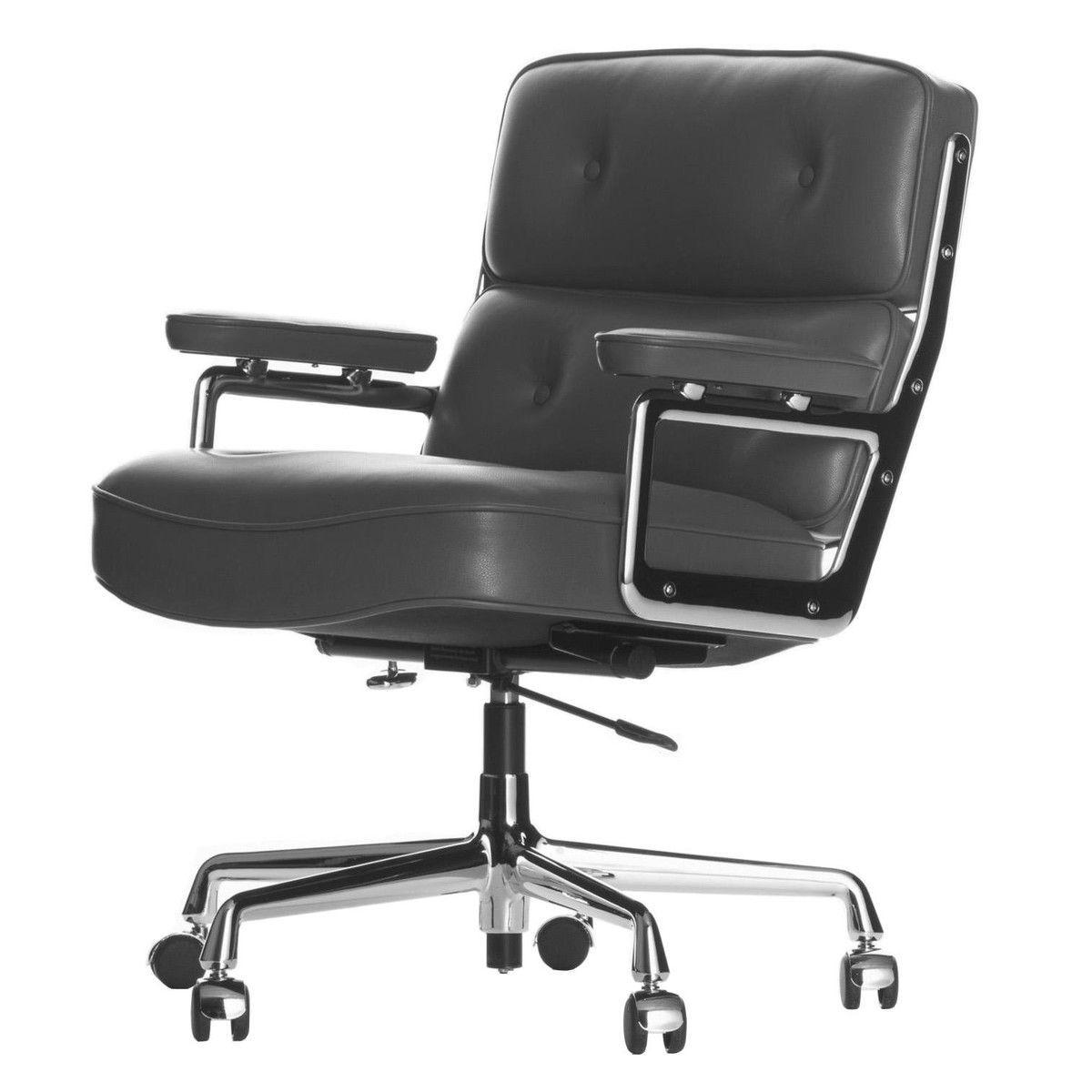 Vitra es 104 eames lobby chair bureaustoel vitra for Charles eames bureaustoel