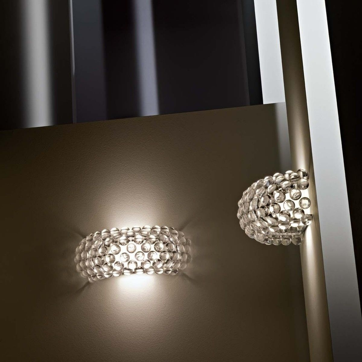 caboche parete wandleuchte foscarini. Black Bedroom Furniture Sets. Home Design Ideas