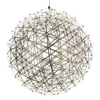 Moooi - Raimond Pendelleuchte - edelstahl/ 492 LEDs/Größe 4/Ø127cm