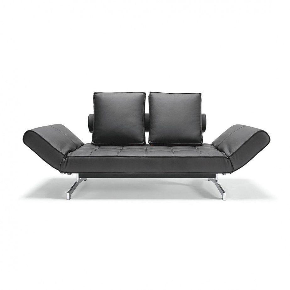 Ghia artificial leather sofa bed innovation for Futon schlafsofa