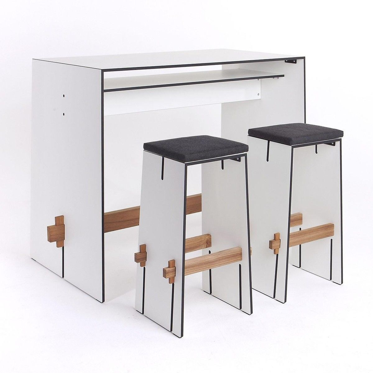 tension bar tisch conmoto. Black Bedroom Furniture Sets. Home Design Ideas