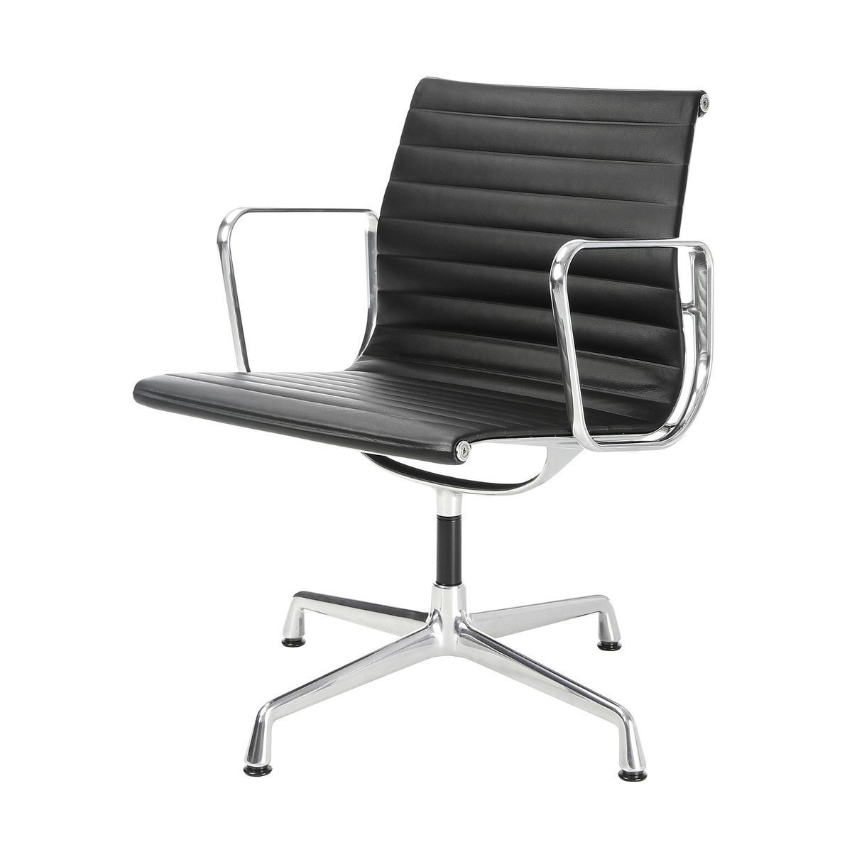 Eames aluminum chair eames aluminium management chair low for Chaise aluminium