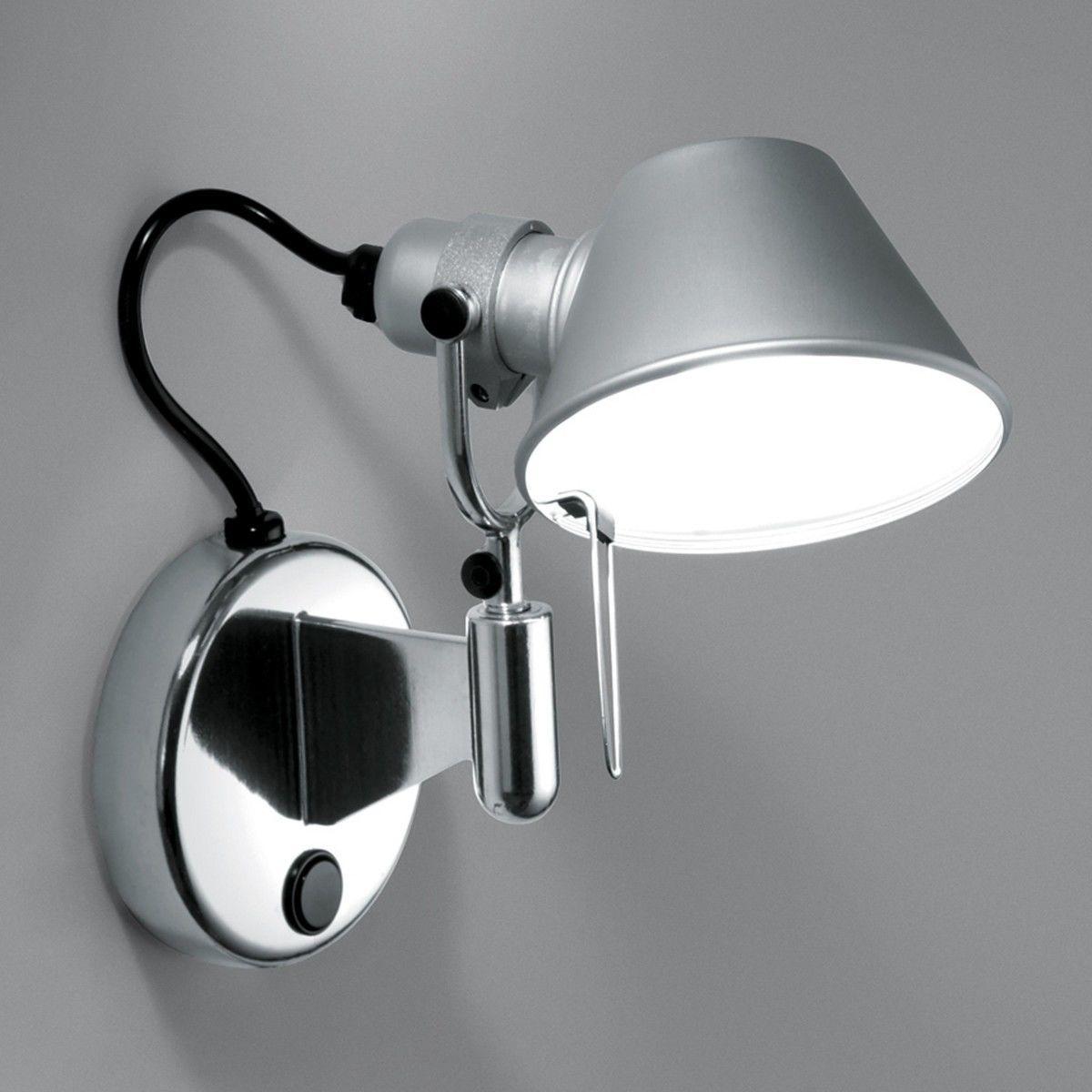 artemide tolomeo micro faretto applique artemide. Black Bedroom Furniture Sets. Home Design Ideas