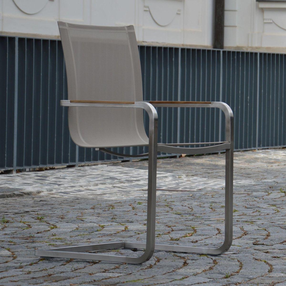 lux freischwinger gartenstuhl jan kurtz. Black Bedroom Furniture Sets. Home Design Ideas