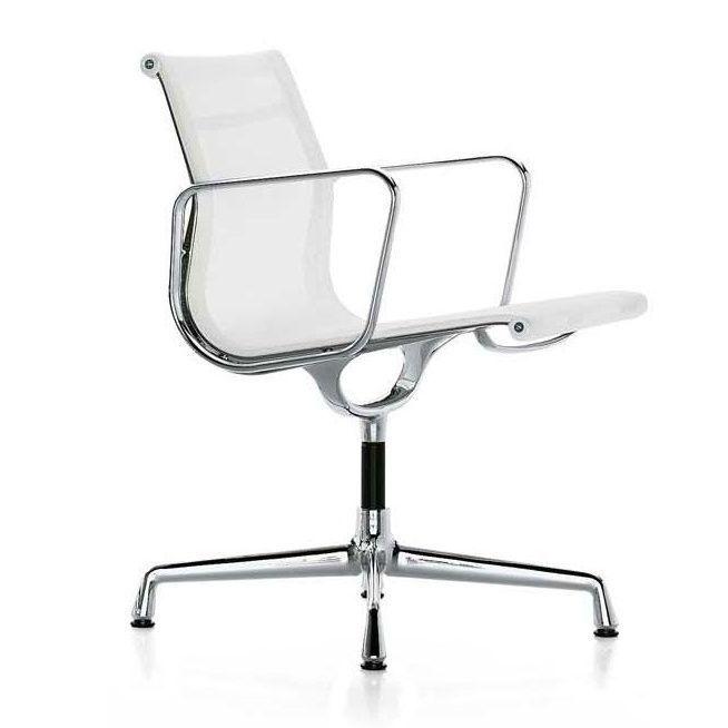 Vitra ea 108 aluminium chair chaise de bureau vitra for Fauteuil de bureau eames