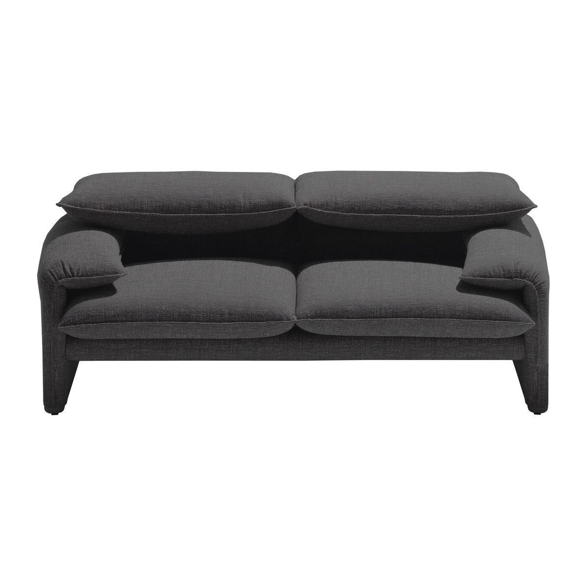 maralunga 40 canap 2 places 190x86cm cassina. Black Bedroom Furniture Sets. Home Design Ideas