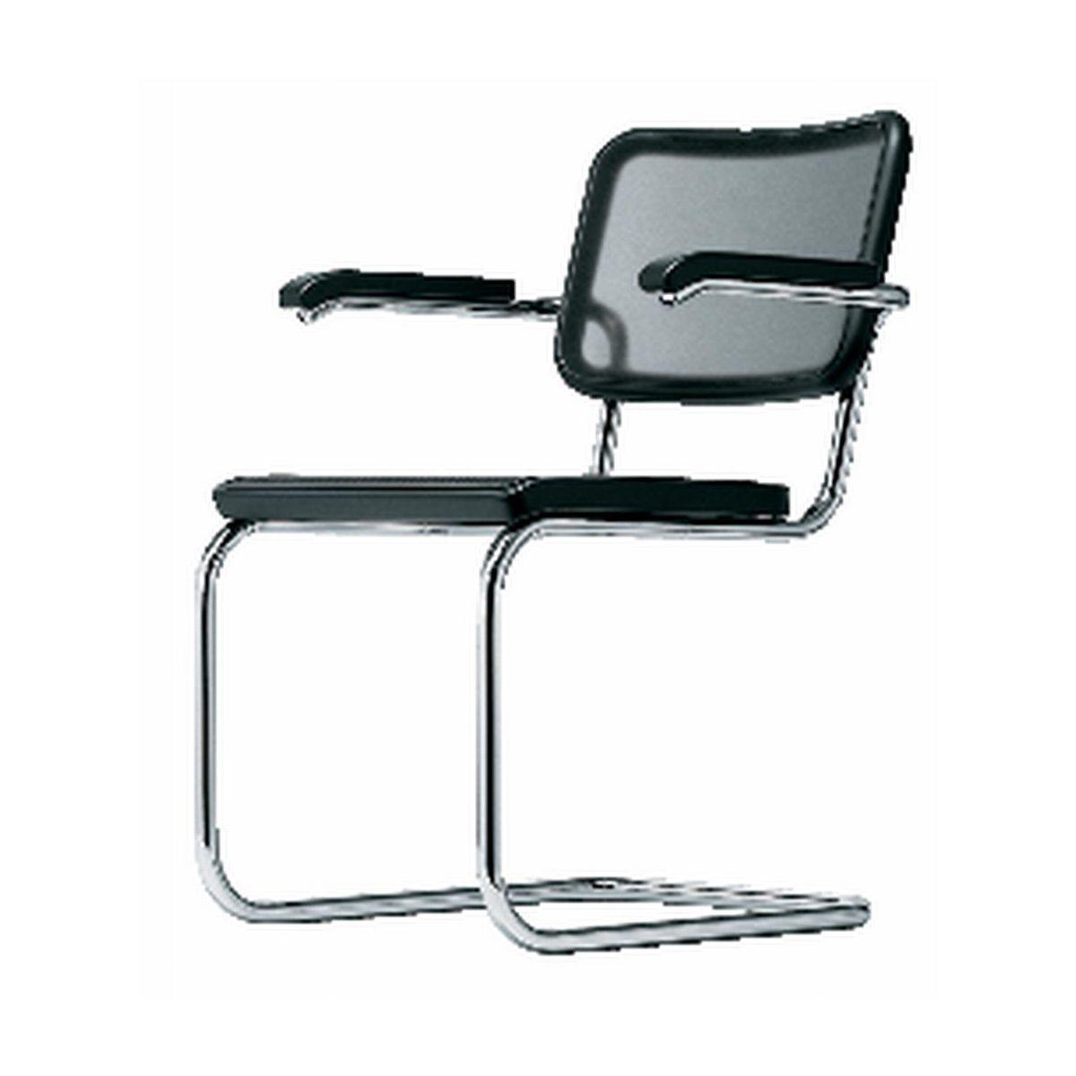 thonet s 64 freischwinger armlehnstuhl thonet. Black Bedroom Furniture Sets. Home Design Ideas