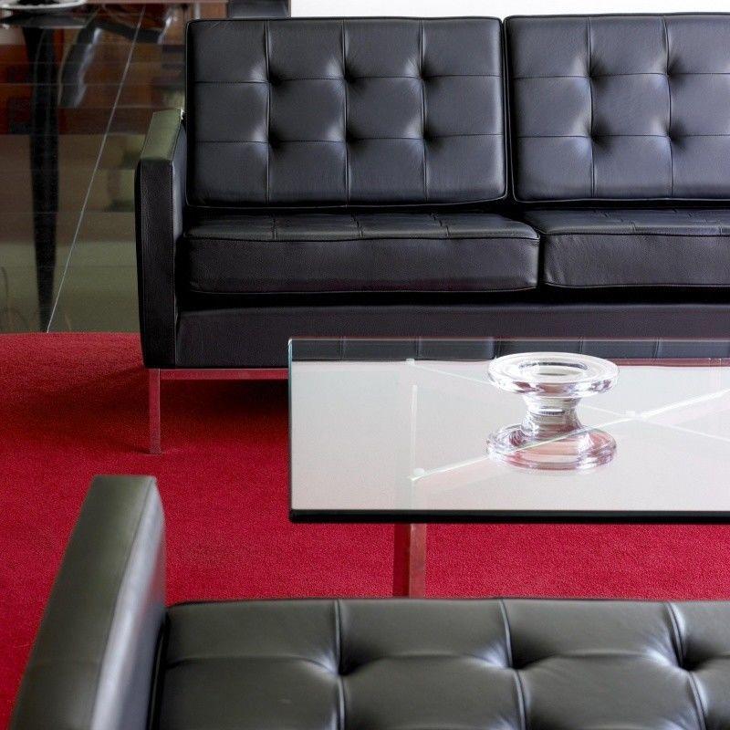 barcelona mies van der rohe couchtisch knoll. Black Bedroom Furniture Sets. Home Design Ideas