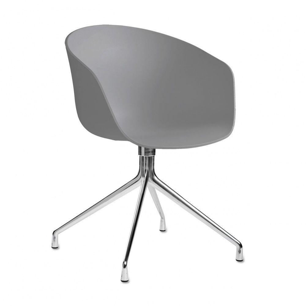 About a chair 20 fauteuil pivotant hay - Fauteuil pivotant gris ...